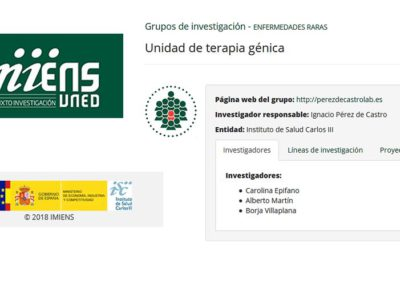 A new IMIENS Research group